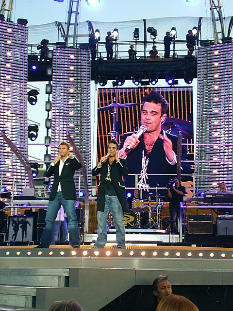 Konzert Robbie Williams Hamburg 2006