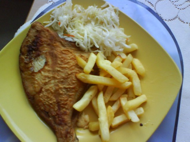Fish and chips:)