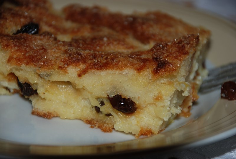 bread and butter pudding - Garnek.pl
