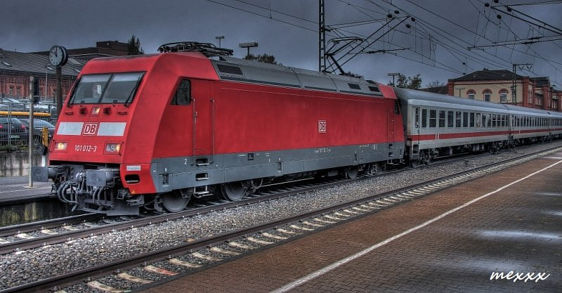 IC 132 z Norddeich Mole do Luxembourg (101 012-3)