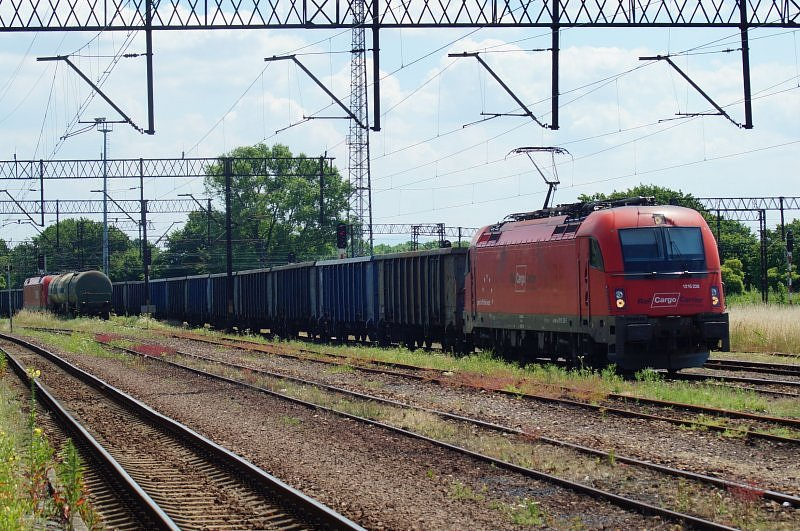 TAURUS ÖBB 1216 228-7 Rail Cargo Carrier