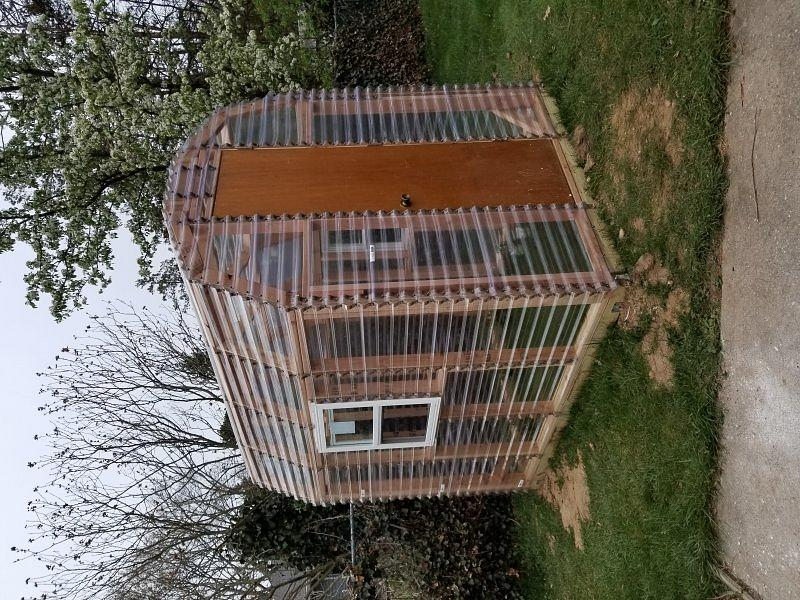 My 1st greenhouse done by myself