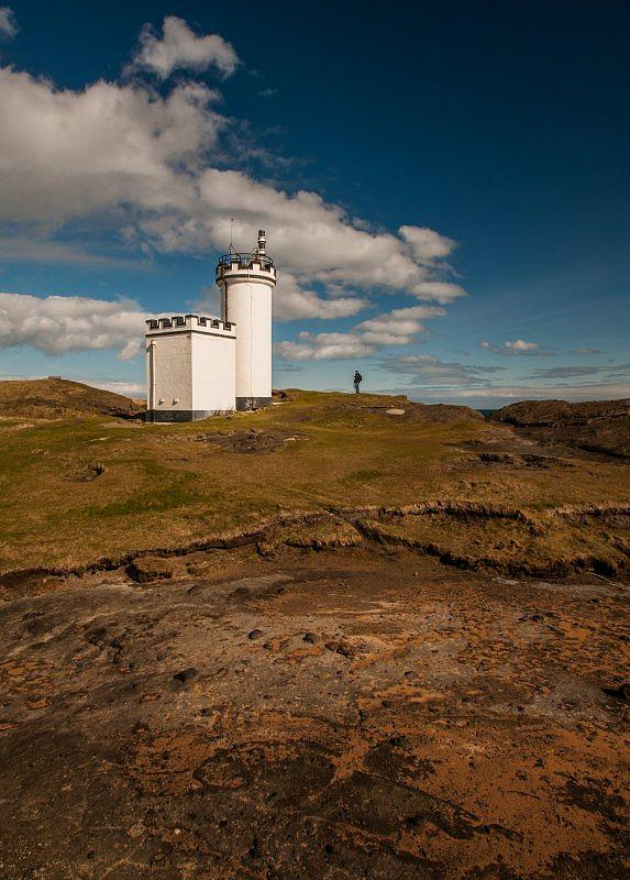 Elie Lighthouse in Fife