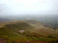 widok z pen-y-fan, walia