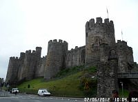 castle in conwy wales