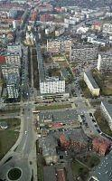 widok z wiezy sky tower we
