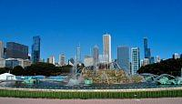Buckingham Fountain .